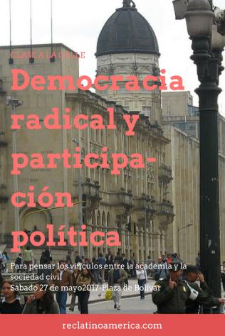 Democracia radical y participación política
