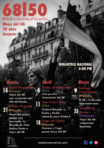 Afiche-Calendario (Final) - Miércoles de la Filosofía